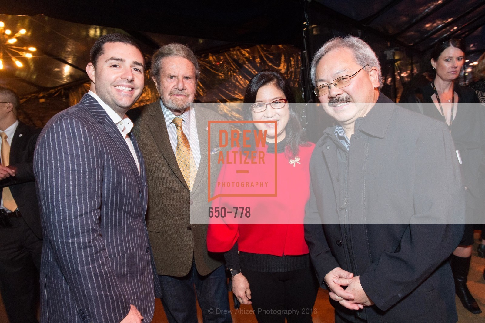Jed York, Tad Taube, Anita Lee, Ed Lee, The Bay Lights Grand Relighting Celebration, Epic Steakhouse. 369 The Embarcadero, January 29th, 2016,Drew Altizer, Drew Altizer Photography, full-service agency, private events, San Francisco photographer, photographer california