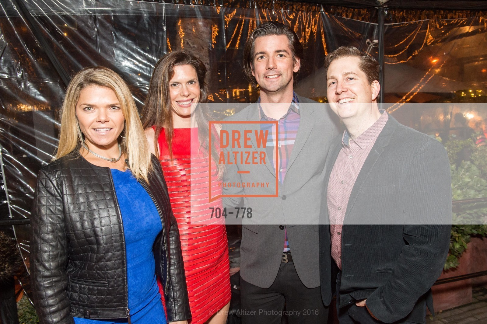 Denise Wells, Lynne Benioff, Joe Poch, Andrew Schmitt, The Bay Lights Grand Relighting Celebration, Epic Steakhouse. 369 The Embarcadero, January 29th, 2016