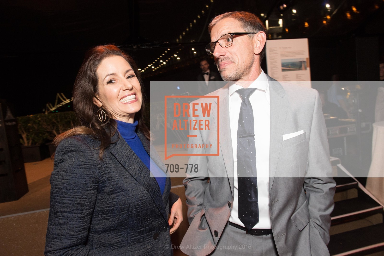 Libby Schaff, Ben Davis, The Bay Lights Grand Relighting Celebration, Epic Steakhouse. 369 The Embarcadero, January 29th, 2016,Drew Altizer, Drew Altizer Photography, full-service agency, private events, San Francisco photographer, photographer california