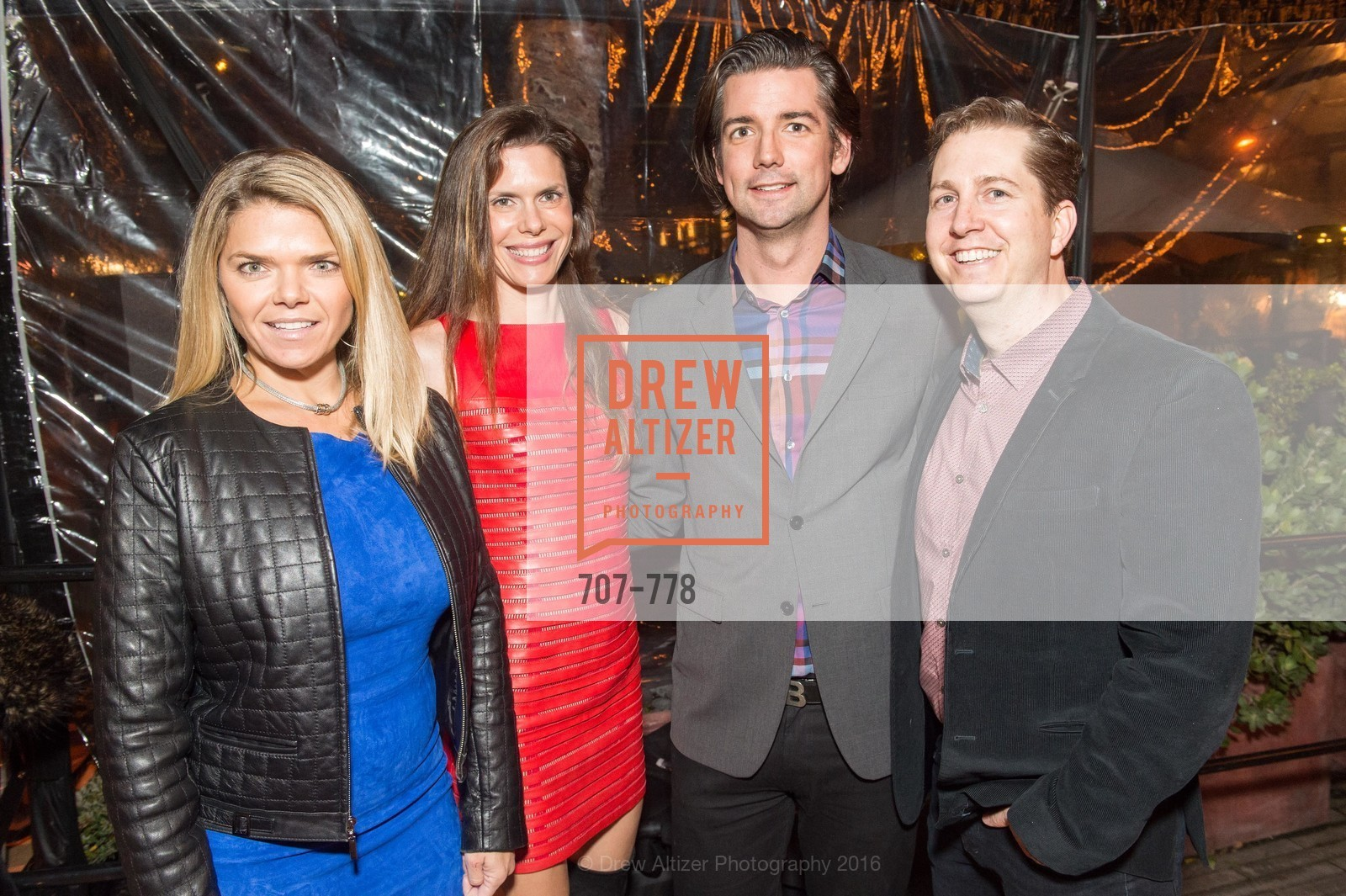 Denise Wells, Lynne Benioff, Joe Poch, Andrew Schmitt, The Bay Lights Grand Relighting Celebration, Epic Steakhouse. 369 The Embarcadero, January 29th, 2016,Drew Altizer, Drew Altizer Photography, full-service event agency, private events, San Francisco photographer, photographer California