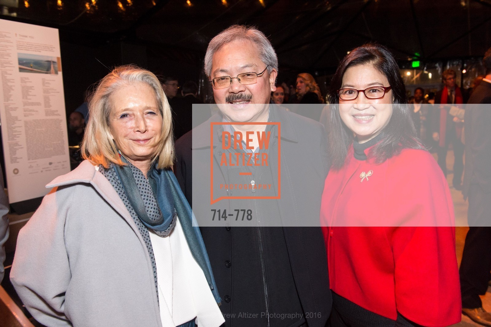 Mimi Haas, Ed Lee, Anita Lee, Photo #714-778