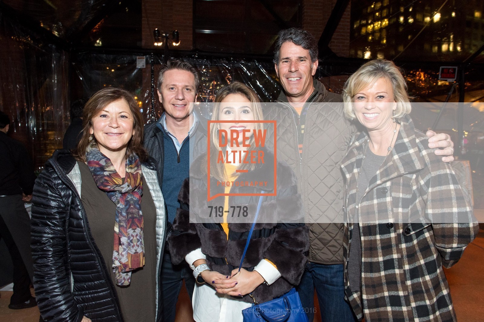 MJ Elmore, Dean Jackson, Nally Steve Chakola, Steve Bono, Tina Bono, The Bay Lights Grand Relighting Celebration, Epic Steakhouse. 369 The Embarcadero, January 29th, 2016,Drew Altizer, Drew Altizer Photography, full-service agency, private events, San Francisco photographer, photographer california
