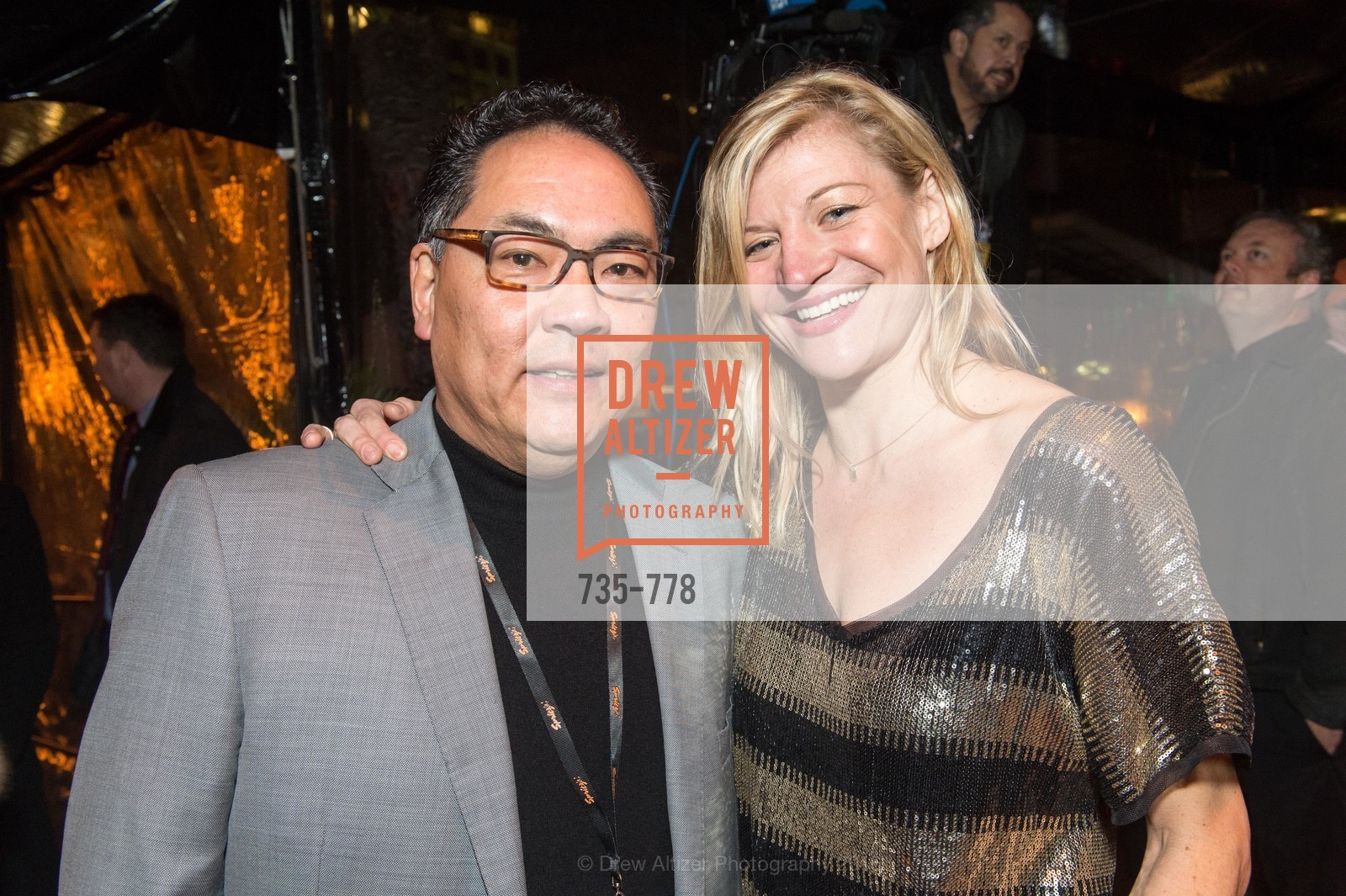 Dean Osaki, Danielle Madeira, The Bay Lights Grand Relighting Celebration, Epic Steakhouse. 369 The Embarcadero, January 29th, 2016,Drew Altizer, Drew Altizer Photography, full-service agency, private events, San Francisco photographer, photographer california