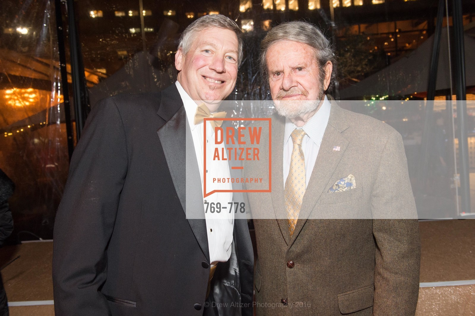 Pete Sittnick, Tad Taube, The Bay Lights Grand Relighting Celebration, Epic Steakhouse. 369 The Embarcadero, January 29th, 2016,Drew Altizer, Drew Altizer Photography, full-service agency, private events, San Francisco photographer, photographer california
