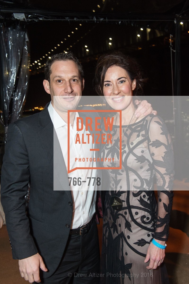 Daniel Lurie, Vanessa Inn, The Bay Lights Grand Relighting Celebration, Epic Steakhouse. 369 The Embarcadero, January 29th, 2016,Drew Altizer, Drew Altizer Photography, full-service agency, private events, San Francisco photographer, photographer california