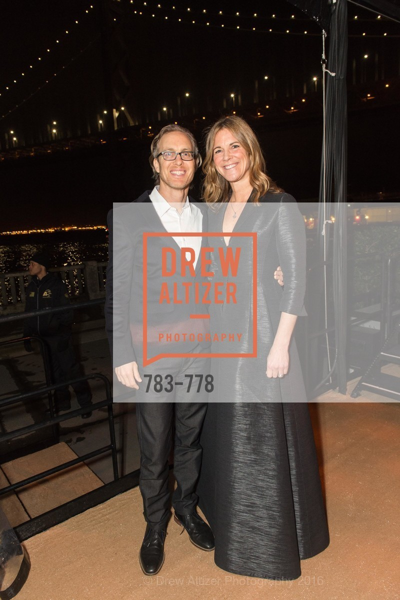 Ian Schmidt, Lisa Dolby Chadwick, The Bay Lights Grand Relighting Celebration, Epic Steakhouse. 369 The Embarcadero, January 29th, 2016,Drew Altizer, Drew Altizer Photography, full-service agency, private events, San Francisco photographer, photographer california