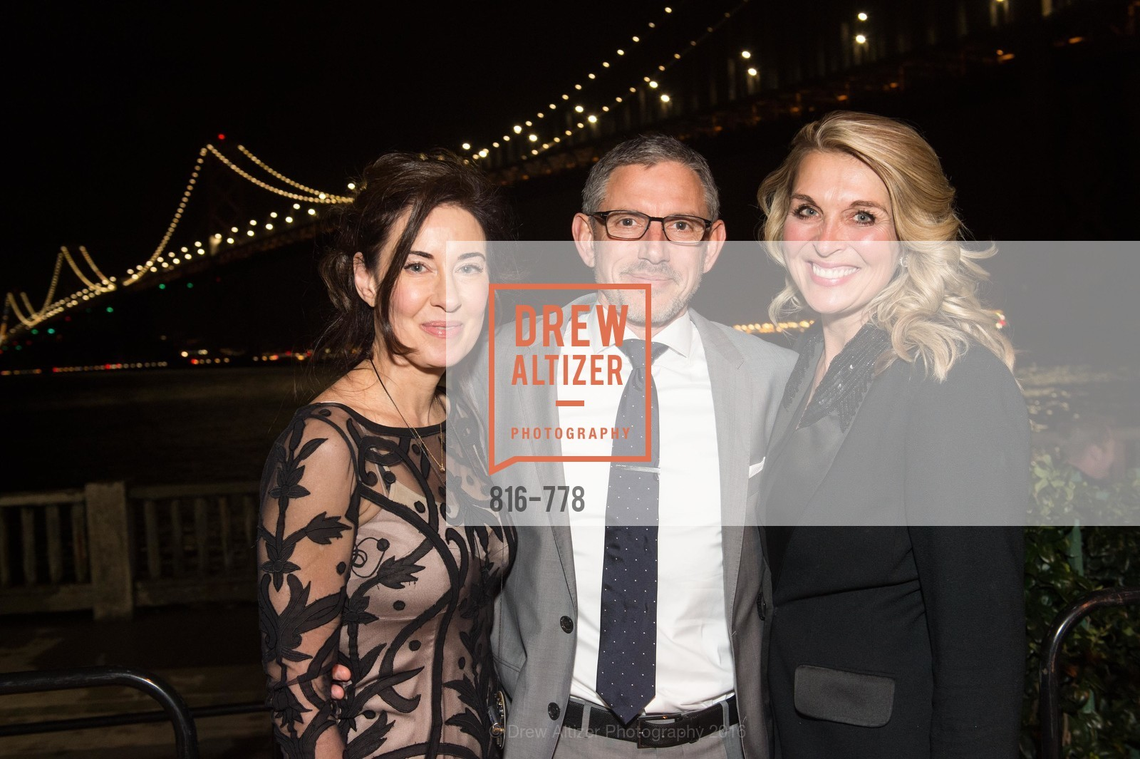 Vanessa Inn, Ben Davis, Juliette Goodrich, The Bay Lights Grand Relighting Celebration, Epic Steakhouse. 369 The Embarcadero, January 29th, 2016,Drew Altizer, Drew Altizer Photography, full-service event agency, private events, San Francisco photographer, photographer California