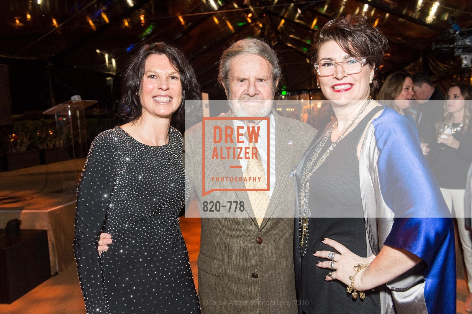 Dorka Keehn, Tad Taube, Amy Critchett, The Bay Lights Grand Relighting Celebration, Epic Steakhouse. 369 The Embarcadero, January 29th, 2016,Drew Altizer, Drew Altizer Photography, full-service agency, private events, San Francisco photographer, photographer california
