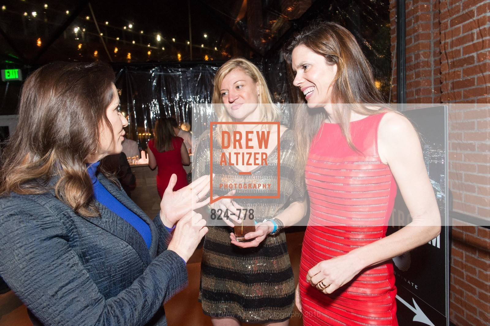 Libby Schaaf, Danielle Madeira, Lynne Benioff, The Bay Lights Grand Relighting Celebration, Epic Steakhouse. 369 The Embarcadero, January 29th, 2016,Drew Altizer, Drew Altizer Photography, full-service agency, private events, San Francisco photographer, photographer california