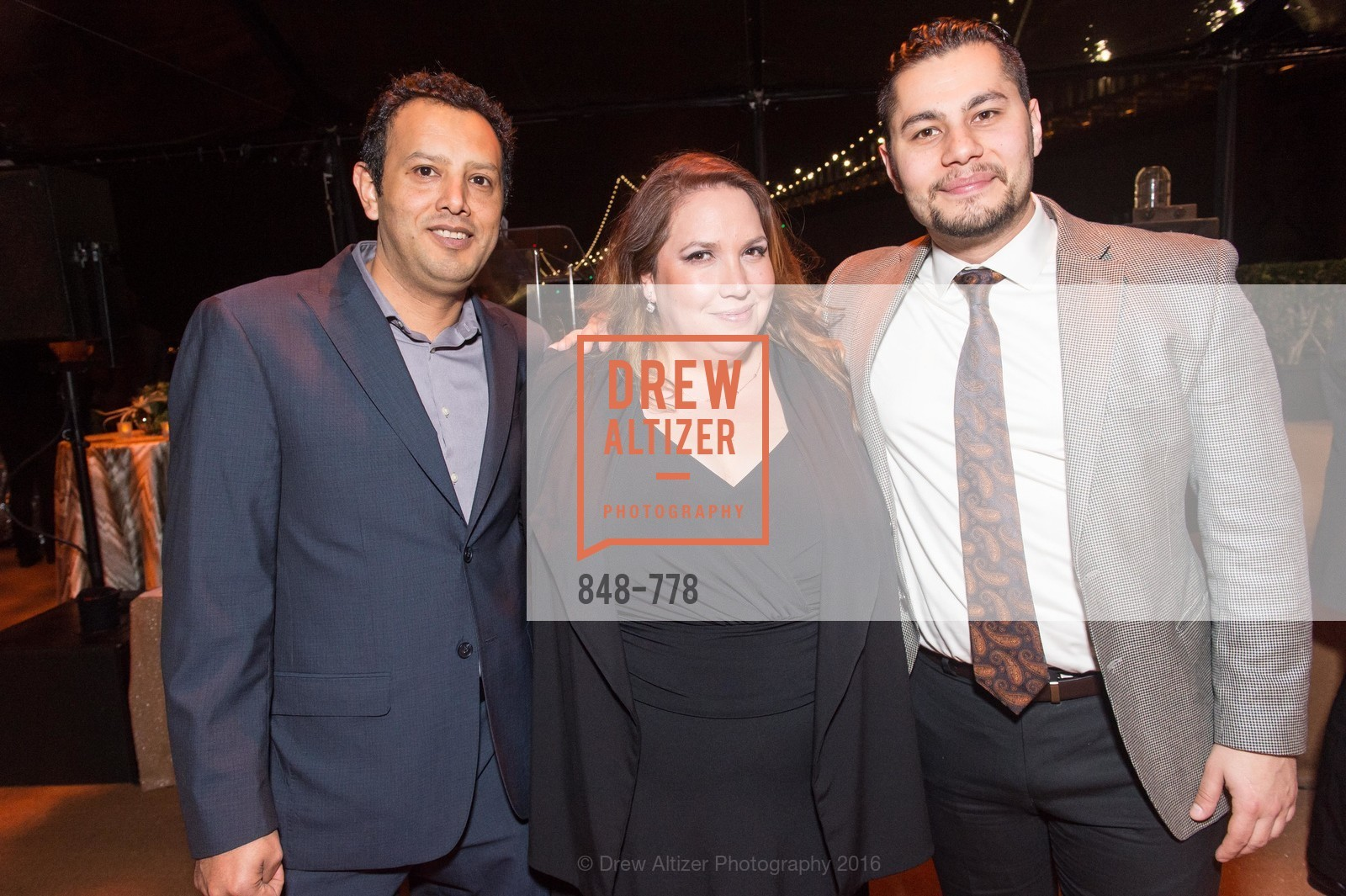 Pedro Gonzales, Valentina Moya, Amir Maher, The Bay Lights Grand Relighting Celebration, Epic Steakhouse. 369 The Embarcadero, January 29th, 2016,Drew Altizer, Drew Altizer Photography, full-service agency, private events, San Francisco photographer, photographer california