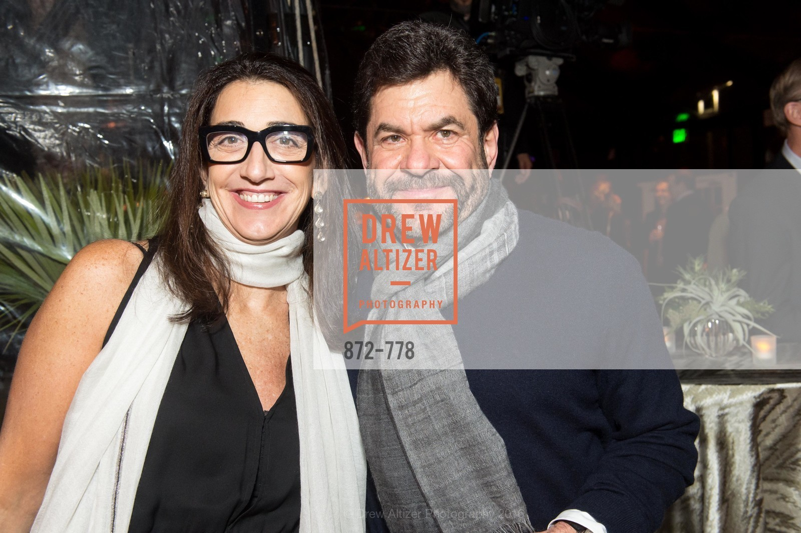 Pam Baer, John Pritzker, The Bay Lights Grand Relighting Celebration, Epic Steakhouse. 369 The Embarcadero, January 29th, 2016,Drew Altizer, Drew Altizer Photography, full-service agency, private events, San Francisco photographer, photographer california