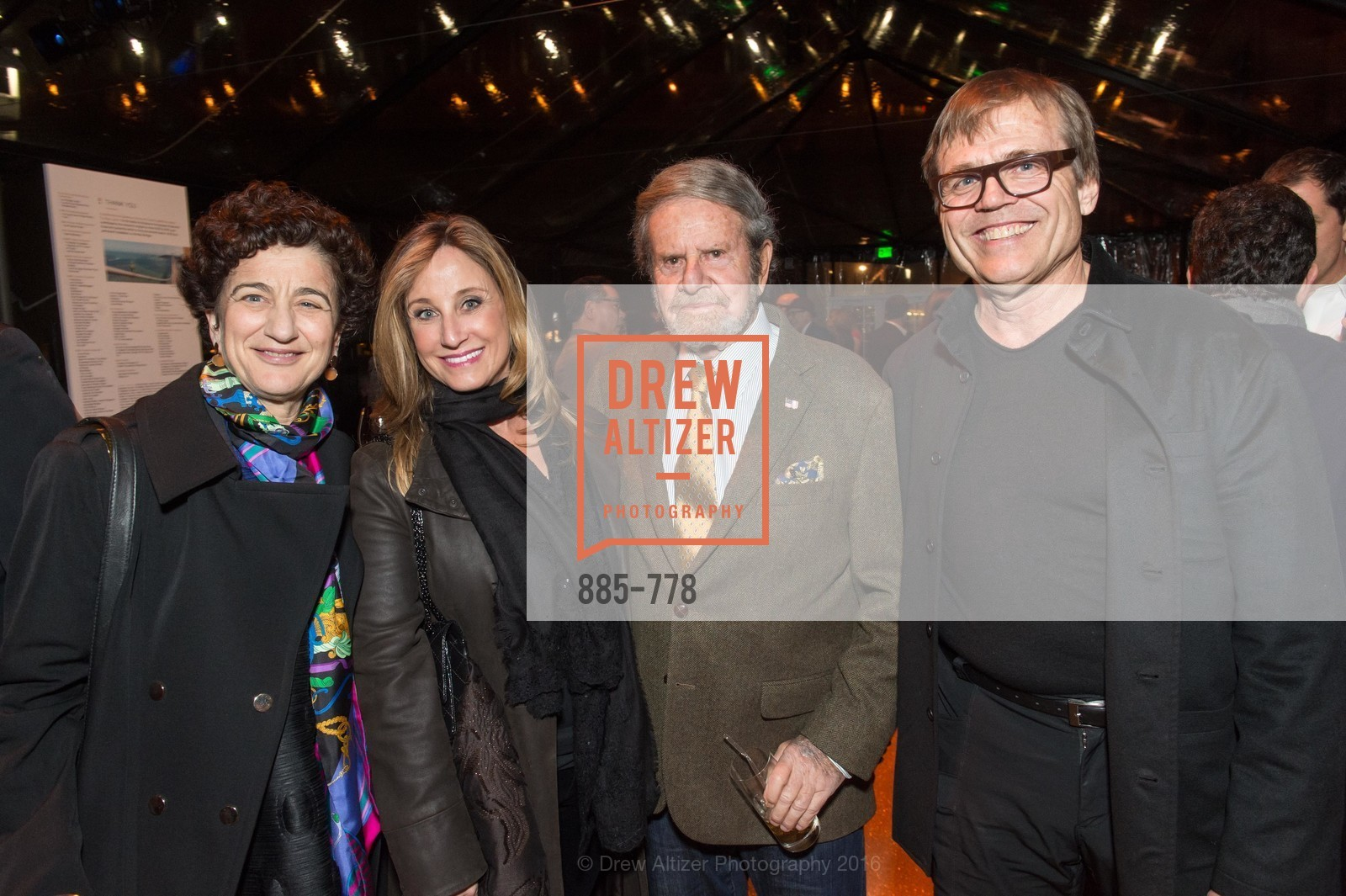 Shana Penn, Dianne Taube, Tad Taube, Paul Milne, The Bay Lights Grand Relighting Celebration, Epic Steakhouse. 369 The Embarcadero, January 29th, 2016,Drew Altizer, Drew Altizer Photography, full-service agency, private events, San Francisco photographer, photographer california