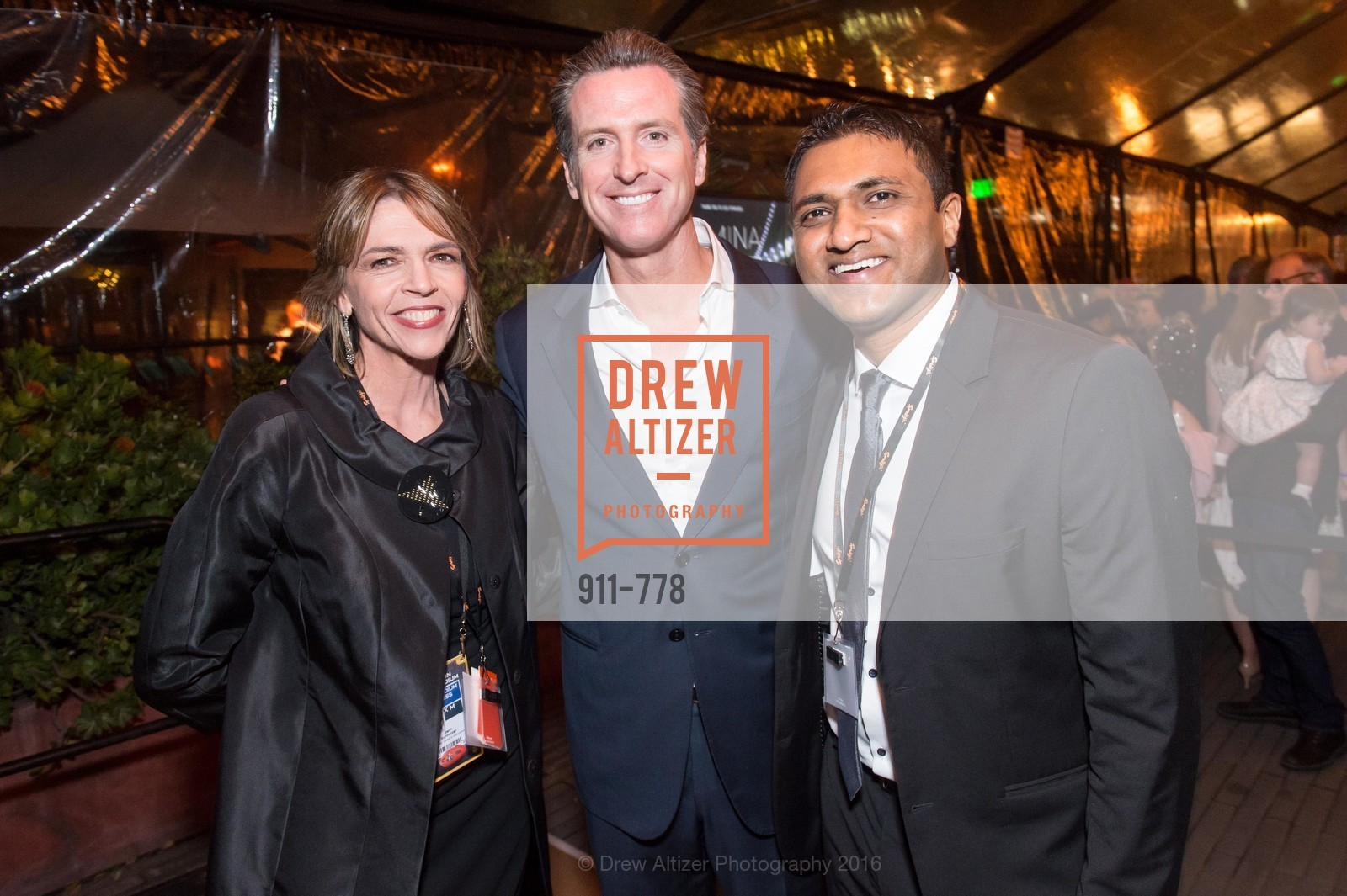 Beth Schnitzer, Gavin Newsom, Raghu Shivaram, The Bay Lights Grand Relighting Celebration, Epic Steakhouse. 369 The Embarcadero, January 29th, 2016,Drew Altizer, Drew Altizer Photography, full-service agency, private events, San Francisco photographer, photographer california