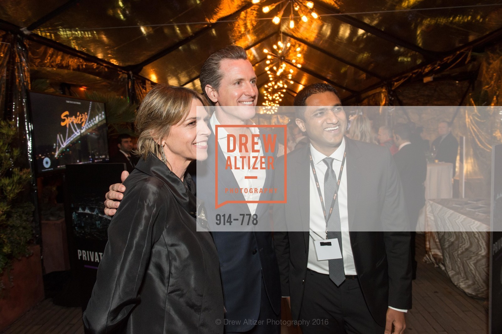 Beth Schnitzer, Gavin Newsom, Raghu Shivaram, The Bay Lights Grand Relighting Celebration, Epic Steakhouse. 369 The Embarcadero, January 29th, 2016,Drew Altizer, Drew Altizer Photography, full-service event agency, private events, San Francisco photographer, photographer California