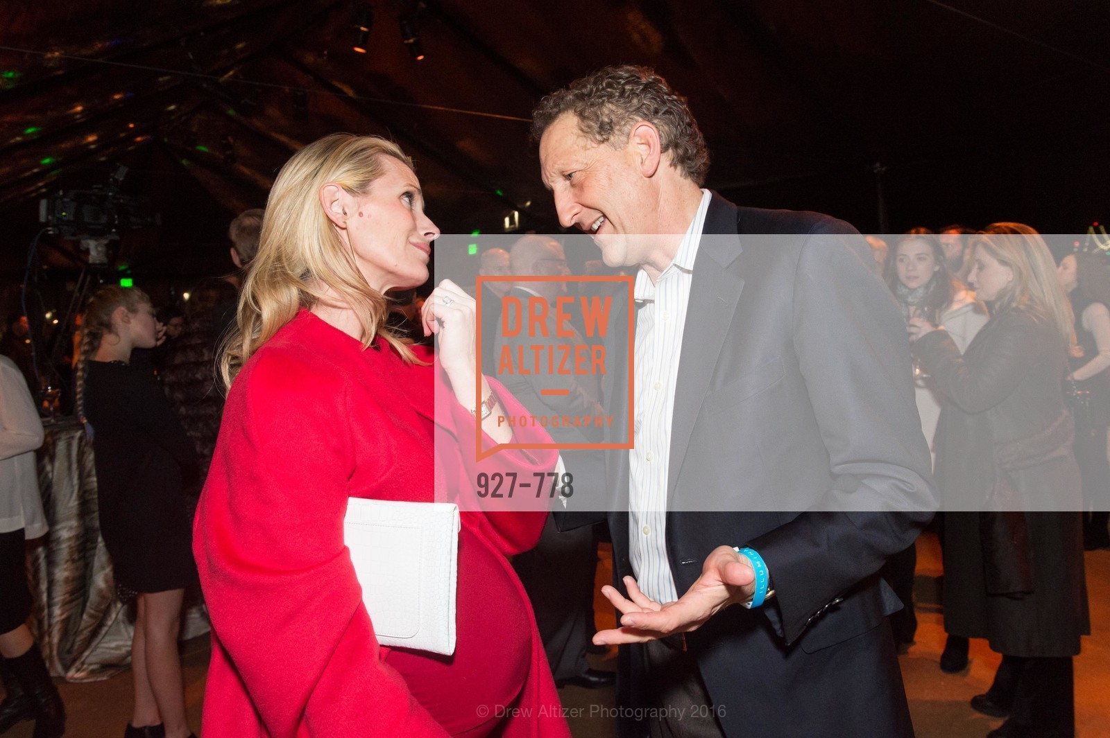 Jennifer Siebel Newsom, Larry Baer, The Bay Lights Grand Relighting Celebration, Epic Steakhouse. 369 The Embarcadero, January 29th, 2016,Drew Altizer, Drew Altizer Photography, full-service agency, private events, San Francisco photographer, photographer california