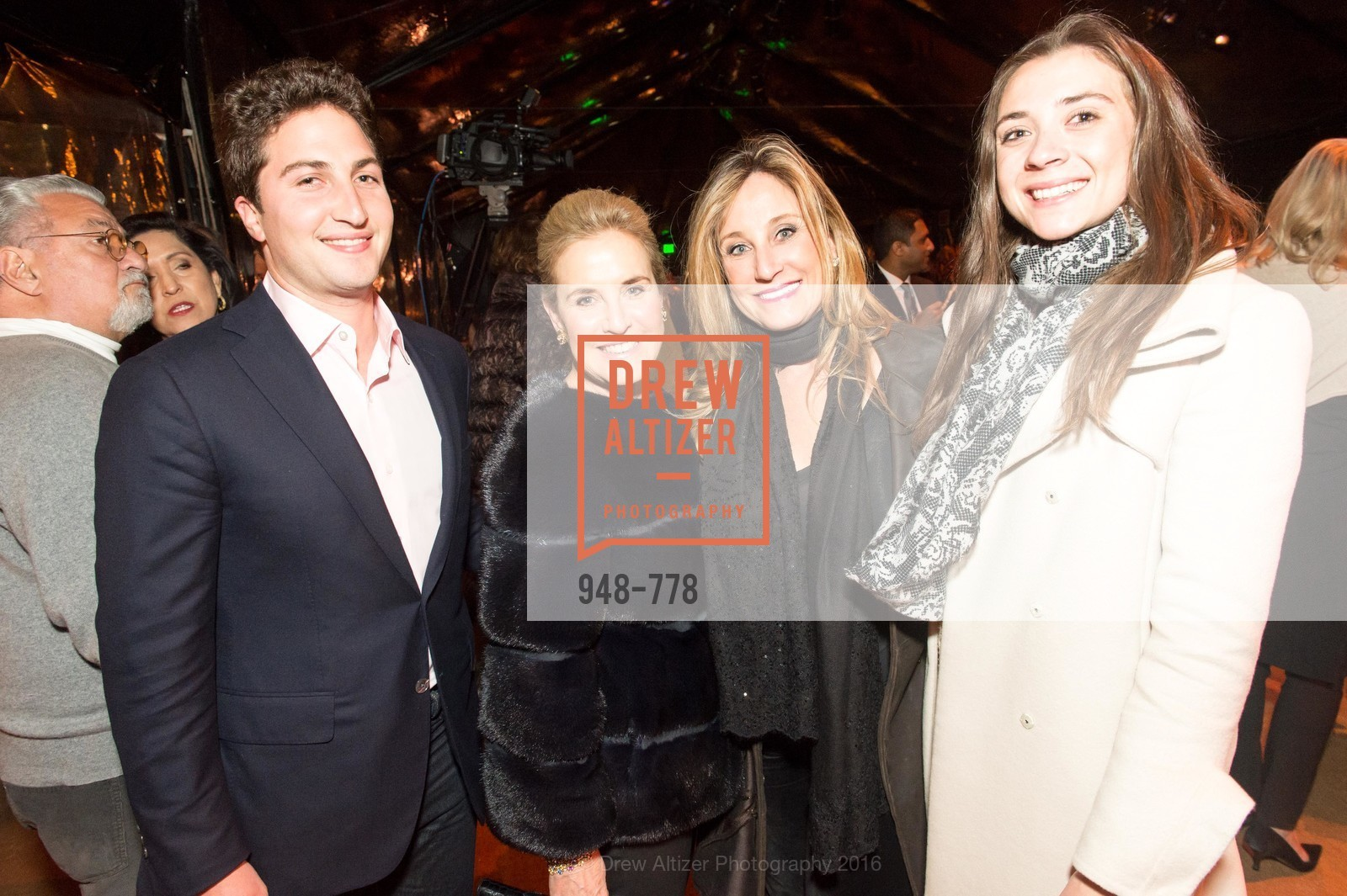 Jason Goldman, Lisa Goldman, Dianne Taube, Haley Akchurin, The Bay Lights Grand Relighting Celebration, Epic Steakhouse. 369 The Embarcadero, January 29th, 2016,Drew Altizer, Drew Altizer Photography, full-service agency, private events, San Francisco photographer, photographer california
