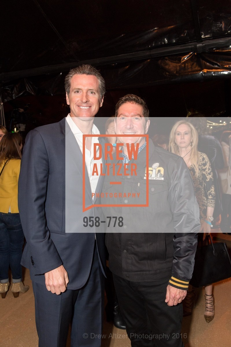 Gavin Newsom, Joe D'Alessandro, The Bay Lights Grand Relighting Celebration, Epic Steakhouse. 369 The Embarcadero, January 29th, 2016