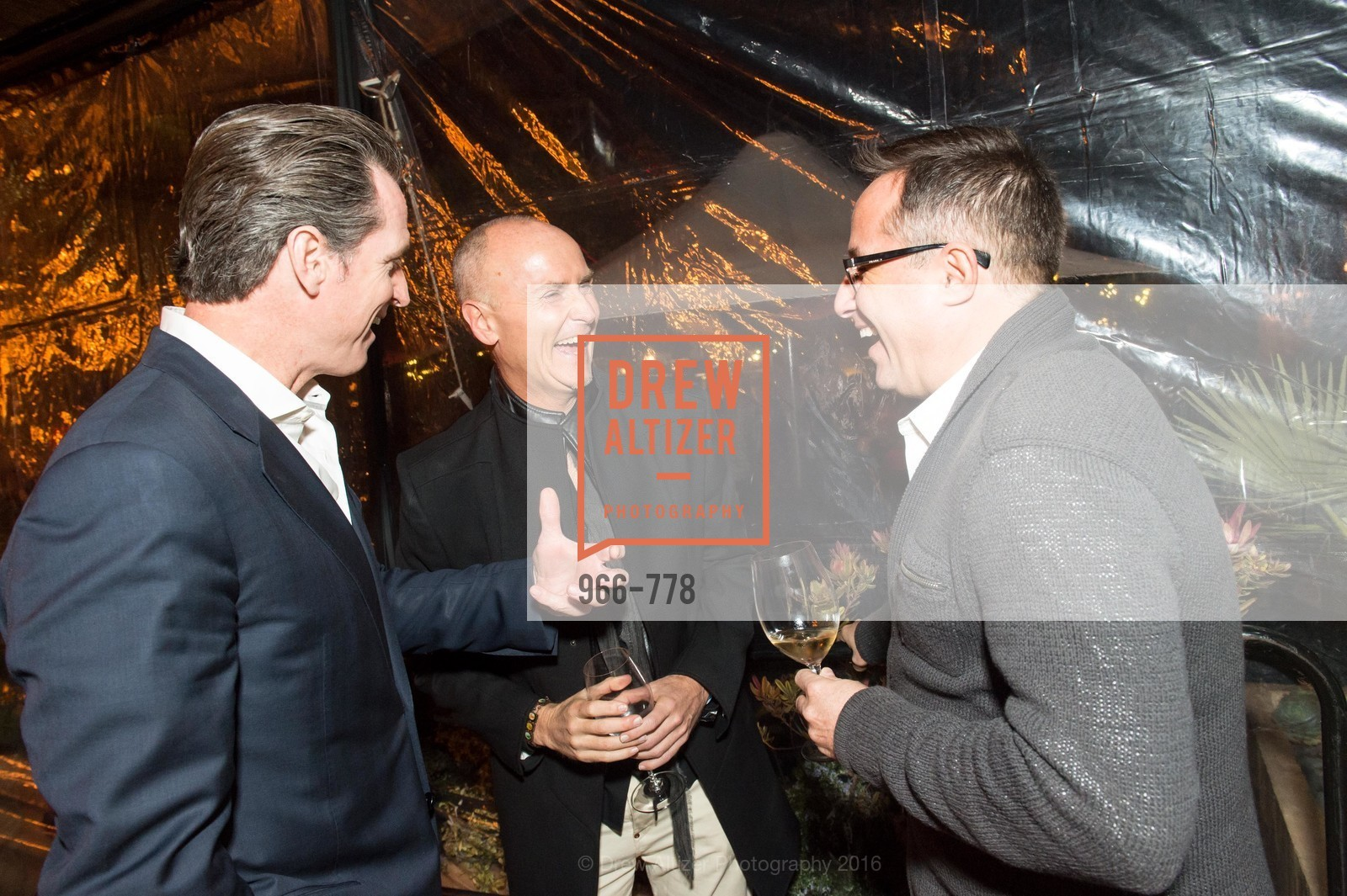 Gavin Newsom, Chip Conley, Oren Bronstein, The Bay Lights Grand Relighting Celebration, Epic Steakhouse. 369 The Embarcadero, January 29th, 2016,Drew Altizer, Drew Altizer Photography, full-service agency, private events, San Francisco photographer, photographer california