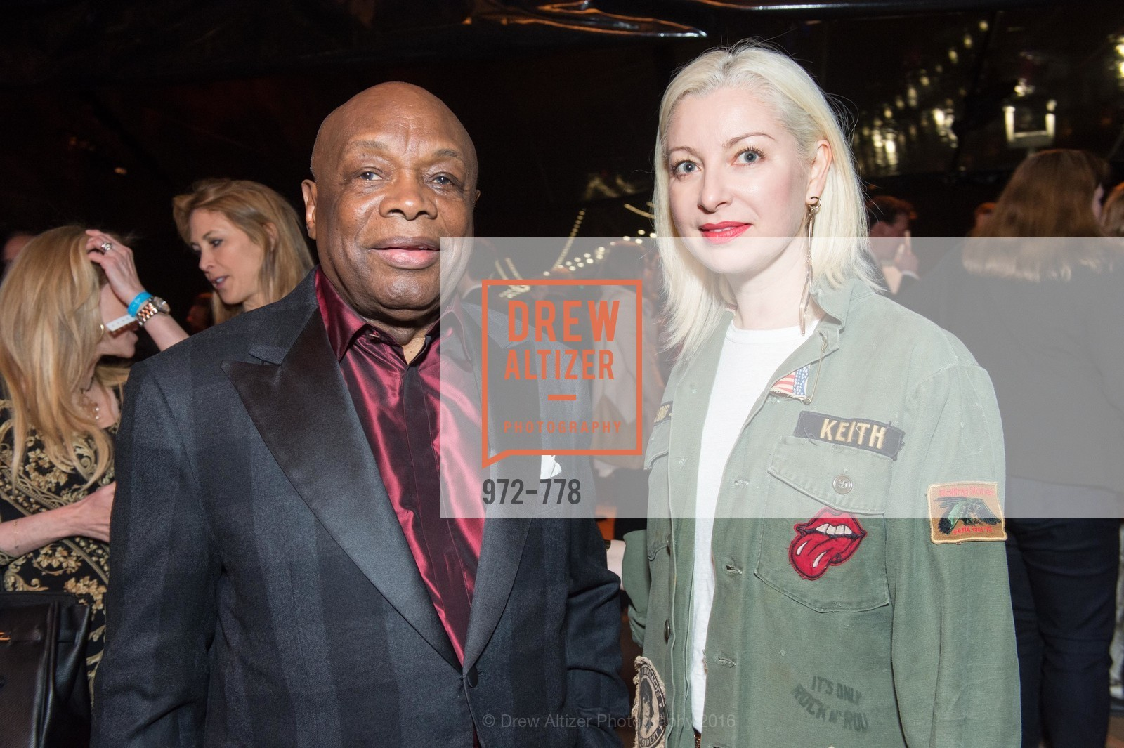 Willie Brown, Sonya Molodetskaya, The Bay Lights Grand Relighting Celebration, Epic Steakhouse. 369 The Embarcadero, January 29th, 2016,Drew Altizer, Drew Altizer Photography, full-service agency, private events, San Francisco photographer, photographer california