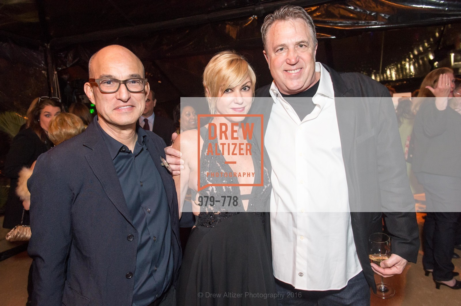 Eric McDougall, Ginny Walsh, John Blaufarb, The Bay Lights Grand Relighting Celebration, Epic Steakhouse. 369 The Embarcadero, January 29th, 2016,Drew Altizer, Drew Altizer Photography, full-service agency, private events, San Francisco photographer, photographer california
