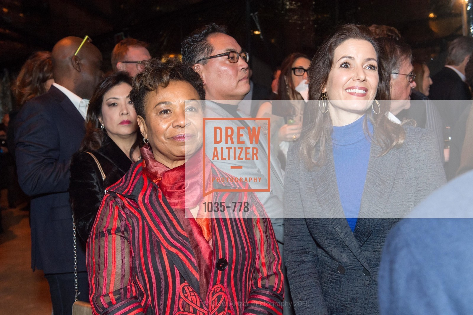 Barbara Lee, Libby Schaaf, The Bay Lights Grand Relighting Celebration, Epic Steakhouse. 369 The Embarcadero, January 29th, 2016,Drew Altizer, Drew Altizer Photography, full-service agency, private events, San Francisco photographer, photographer california