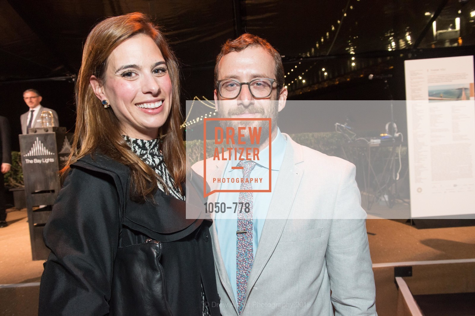 Megan Bennett, Jason Taube, The Bay Lights Grand Relighting Celebration, Epic Steakhouse. 369 The Embarcadero, January 29th, 2016,Drew Altizer, Drew Altizer Photography, full-service agency, private events, San Francisco photographer, photographer california
