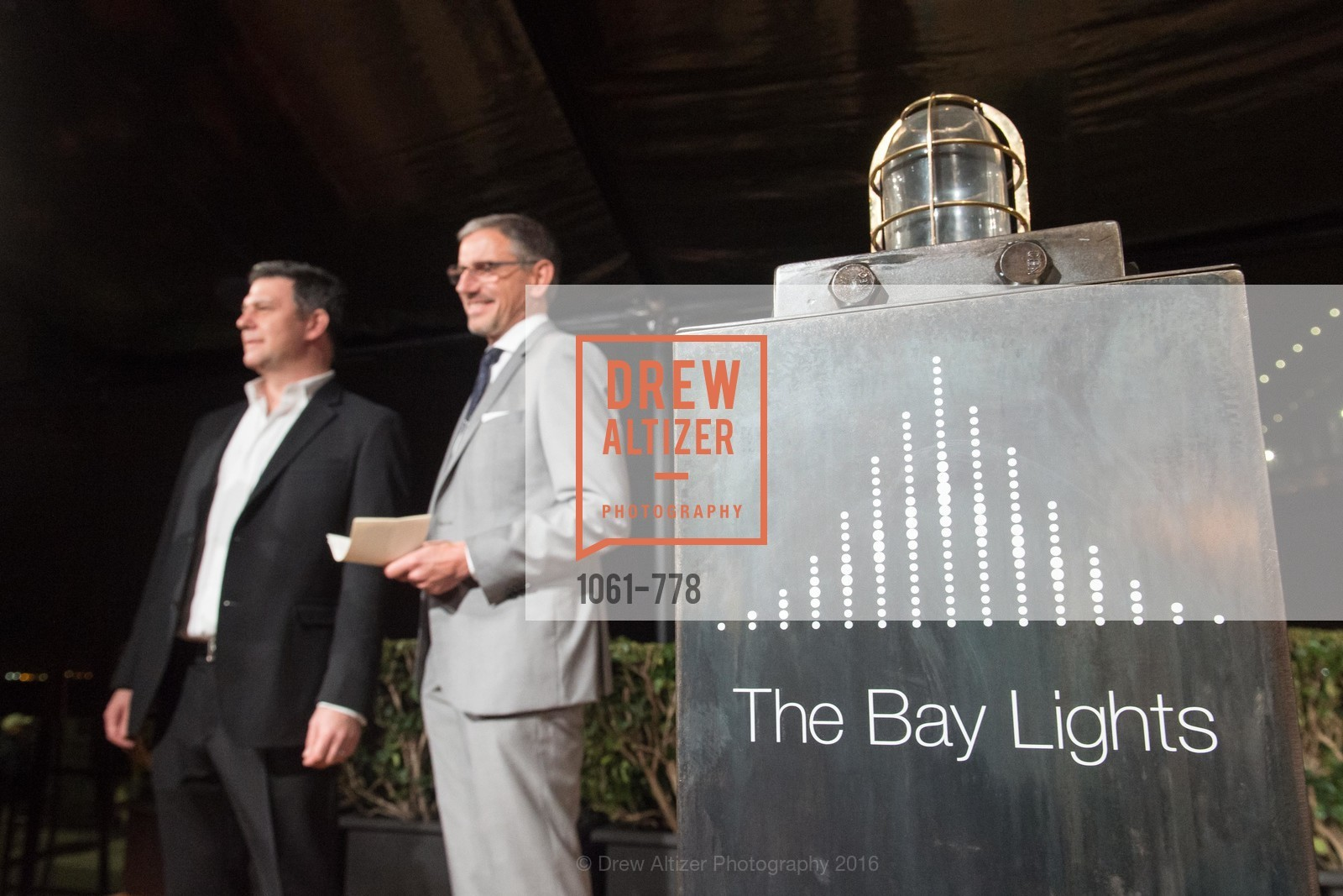 Leo Villareal, Ben Davis, The Bay Lights Grand Relighting Celebration, Epic Steakhouse. 369 The Embarcadero, January 29th, 2016,Drew Altizer, Drew Altizer Photography, full-service agency, private events, San Francisco photographer, photographer california