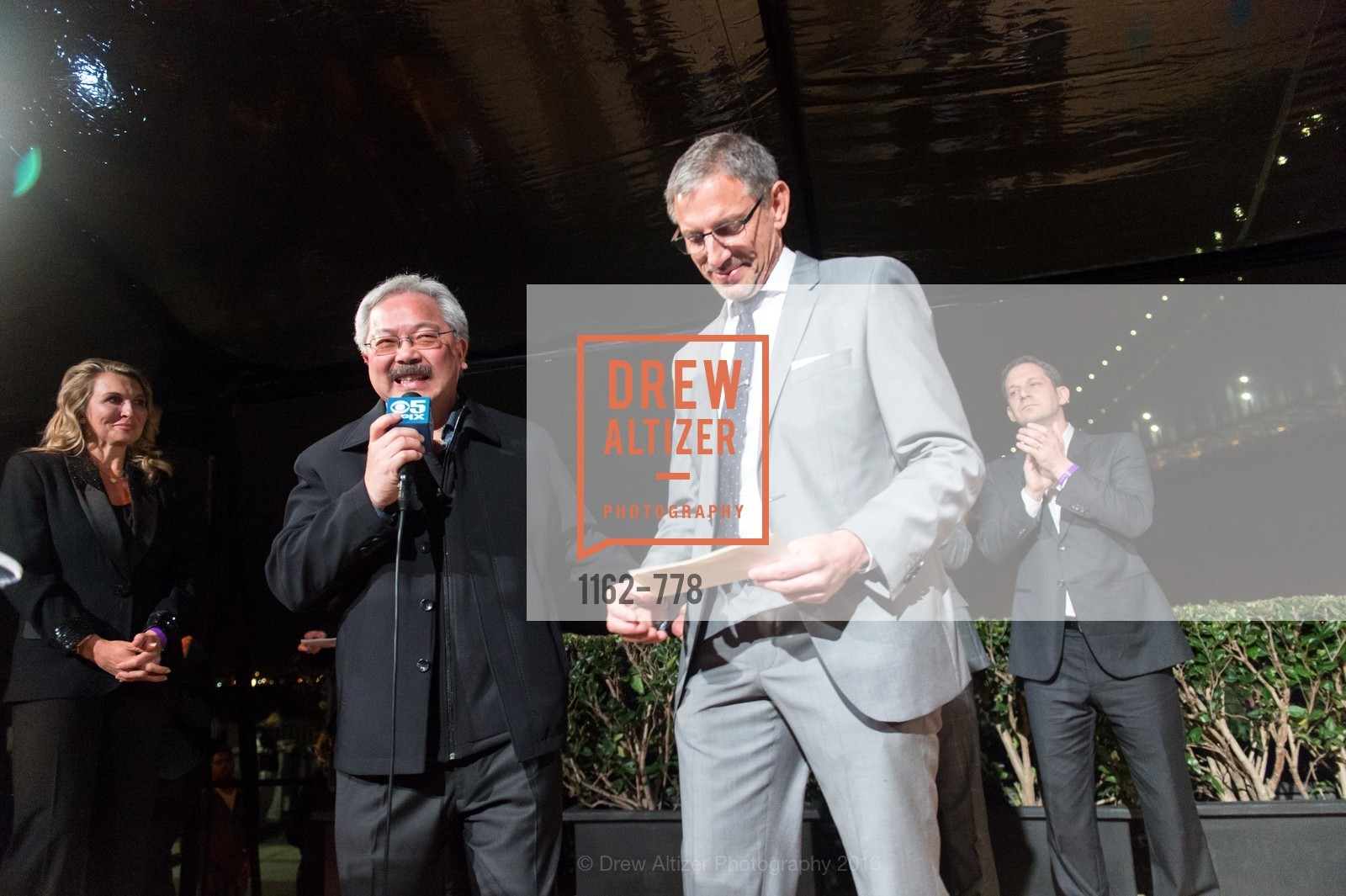 Ed Lee, Ben Davis, The Bay Lights Grand Relighting Celebration, Epic Steakhouse. 369 The Embarcadero, January 29th, 2016,Drew Altizer, Drew Altizer Photography, full-service event agency, private events, San Francisco photographer, photographer California