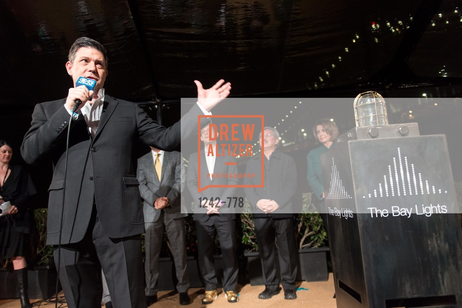 Leo Villareal, The Bay Lights Grand Relighting Celebration, Epic Steakhouse. 369 The Embarcadero, January 29th, 2016,Drew Altizer, Drew Altizer Photography, full-service event agency, private events, San Francisco photographer, photographer California