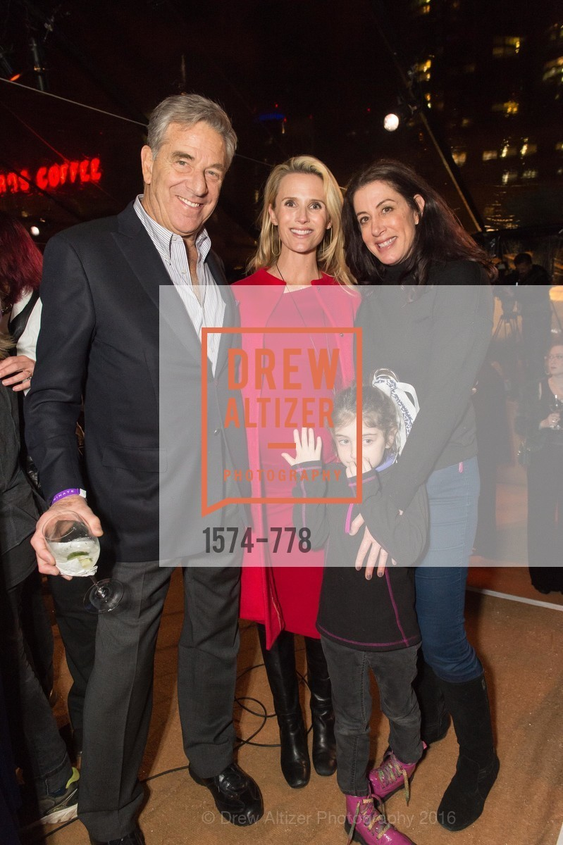 Paul Pelosi, Jennifer Siebel Newsom, Christine Pelosi, Bella Kaufman, The Bay Lights Grand Relighting Celebration, Epic Steakhouse. 369 The Embarcadero, January 29th, 2016,Drew Altizer, Drew Altizer Photography, full-service agency, private events, San Francisco photographer, photographer california