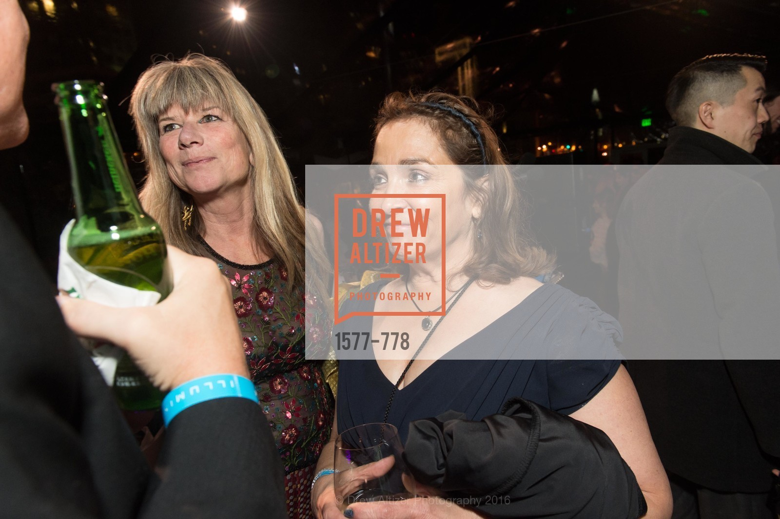 Lisa Alexander, Susan Bartels, The Bay Lights Grand Relighting Celebration, Epic Steakhouse. 369 The Embarcadero, January 29th, 2016,Drew Altizer, Drew Altizer Photography, full-service agency, private events, San Francisco photographer, photographer california