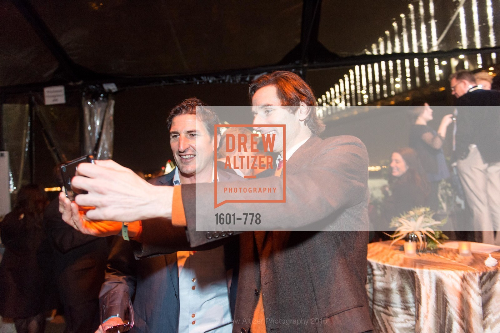 Sergio Azzolino, Paul Pelosi Jr., The Bay Lights Grand Relighting Celebration, Epic Steakhouse. 369 The Embarcadero, January 29th, 2016,Drew Altizer, Drew Altizer Photography, full-service agency, private events, San Francisco photographer, photographer california