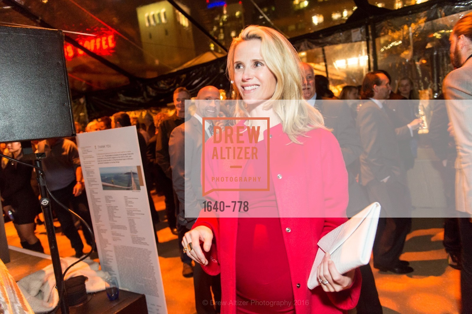 Jennifer Siebel Newsom, The Bay Lights Grand Relighting Celebration, Epic Steakhouse. 369 The Embarcadero, January 29th, 2016,Drew Altizer, Drew Altizer Photography, full-service agency, private events, San Francisco photographer, photographer california