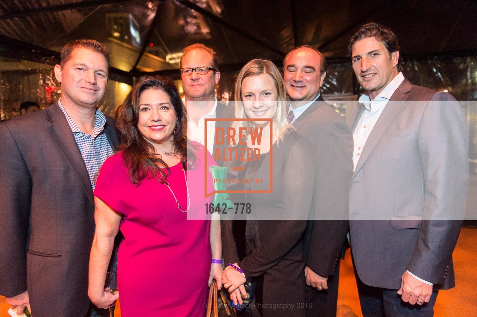 Gerry Bowers, Samara Diapoulos, Berkely Riley, Bill Diapoulos, Sergio Azzolino, The Bay Lights Grand Relighting Celebration, Epic Steakhouse. 369 The Embarcadero, January 29th, 2016,Drew Altizer, Drew Altizer Photography, full-service agency, private events, San Francisco photographer, photographer california