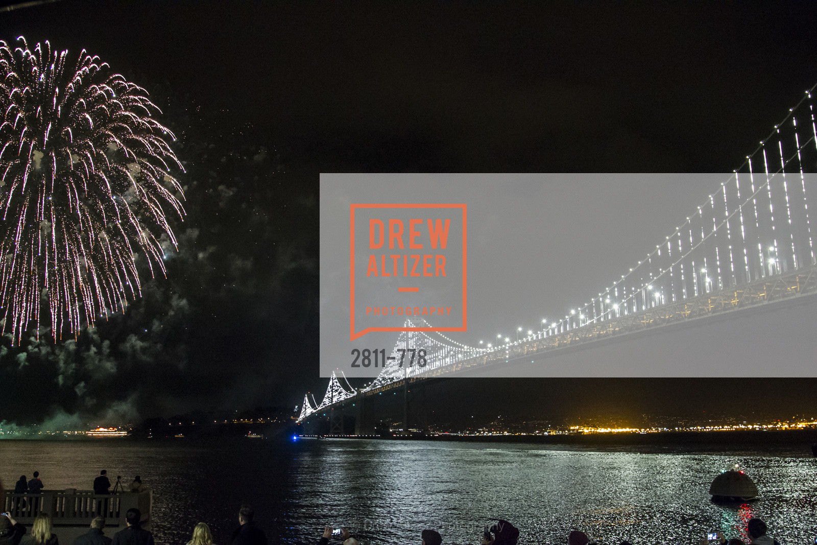 Atmosphere, The Bay Lights Grand Relighting Celebration, January 29th, 2016, Photo,Drew Altizer, Drew Altizer Photography, full-service event agency, private events, San Francisco photographer, photographer California