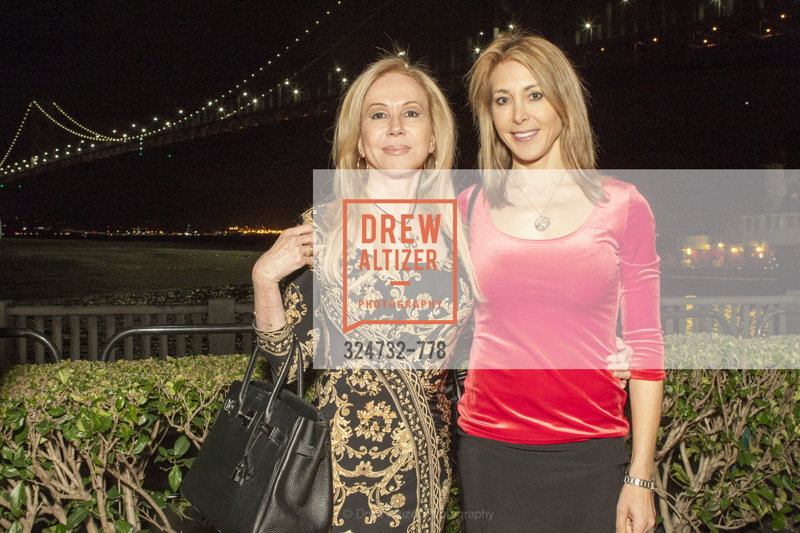 Sophie Azouaou, Eileen Blum-Bourgade, The Bay Lights Grand Relighting Celebration, Epic Steakhouse. 369 The Embarcadero, January 29th, 2016,Drew Altizer, Drew Altizer Photography, full-service agency, private events, San Francisco photographer, photographer california