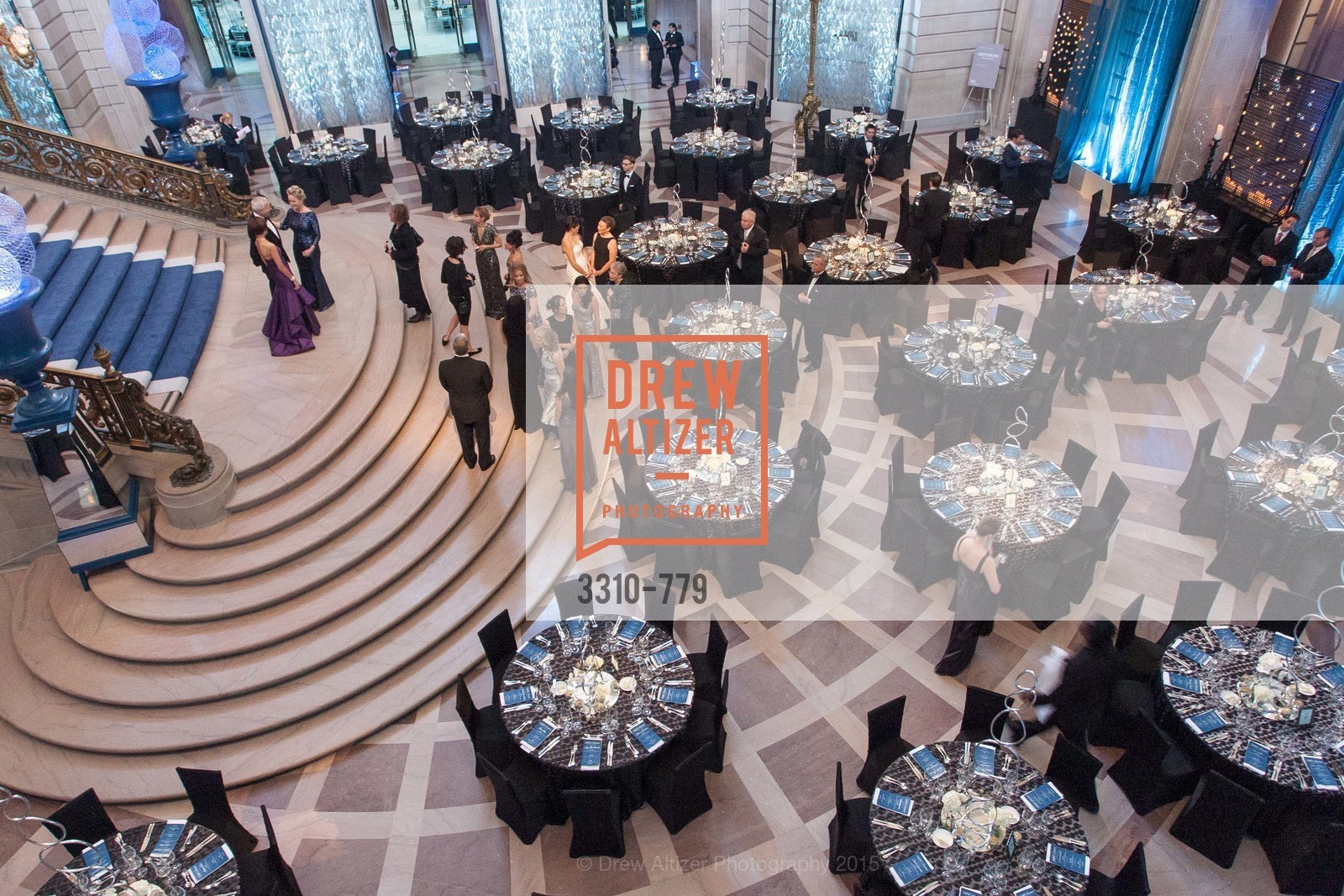 Atmosphere, San Francisco Ballet 2015 Opening Night Gala, San Francisco City Hall. 1 Dr Carlton B Goodlett Pl, January 22nd, 2015,Drew Altizer, Drew Altizer Photography, full-service agency, private events, San Francisco photographer, photographer california