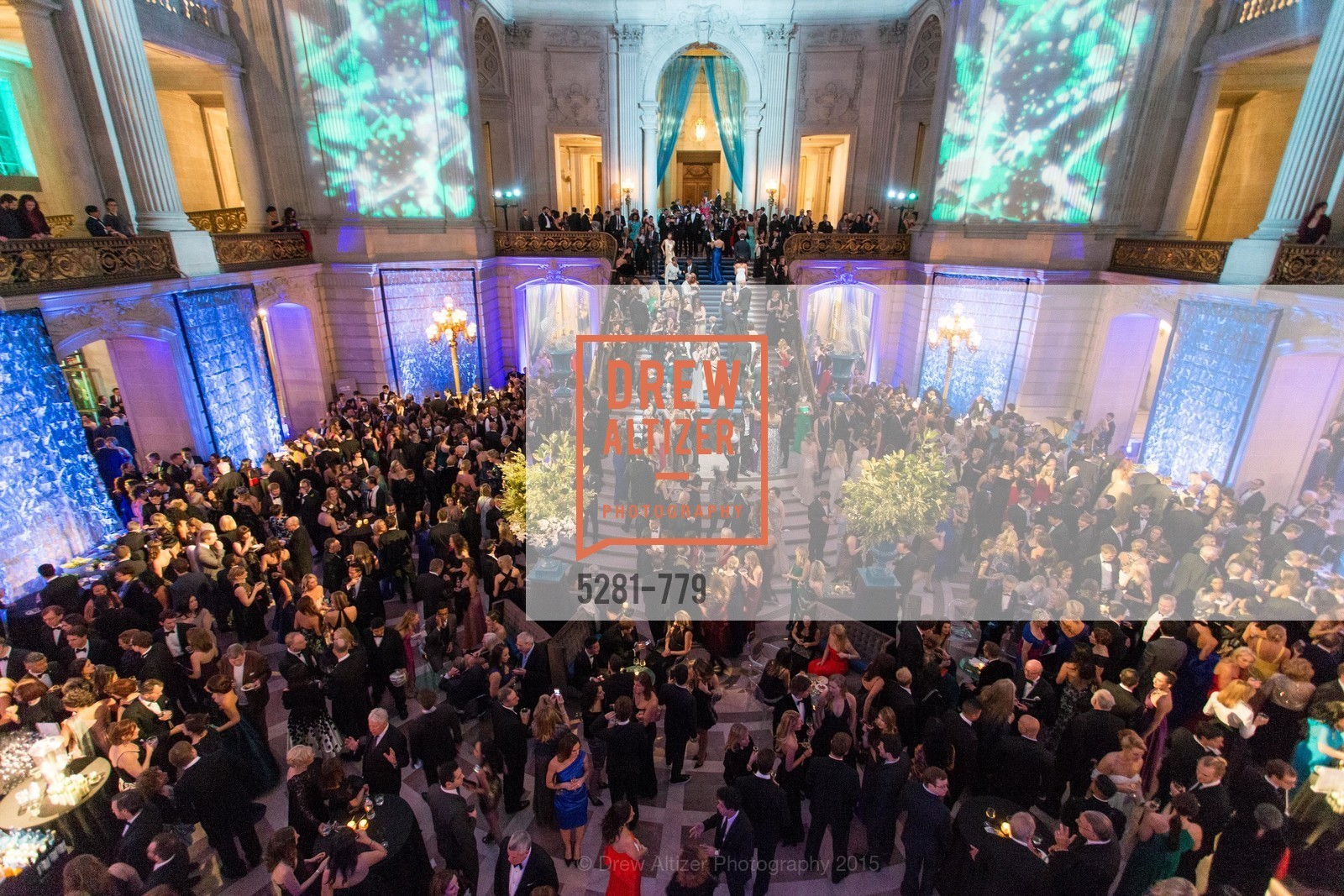 Atmosphere, San Francisco Ballet 2015 Opening Night Gala, San Francisco City Hall. 1 Dr Carlton B Goodlett Pl, January 22nd, 2015,Drew Altizer, Drew Altizer Photography, full-service event agency, private events, San Francisco photographer, photographer California