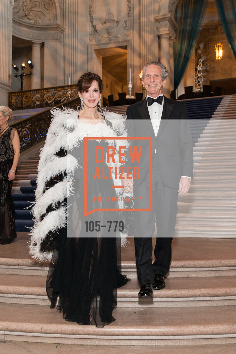 Stephanie Marver, Jim Marver, San Francisco Ballet 2015 Opening Night Gala, San Francisco City Hall. 1 Dr Carlton B Goodlett Pl, January 22nd, 2015,Drew Altizer, Drew Altizer Photography, full-service agency, private events, San Francisco photographer, photographer california