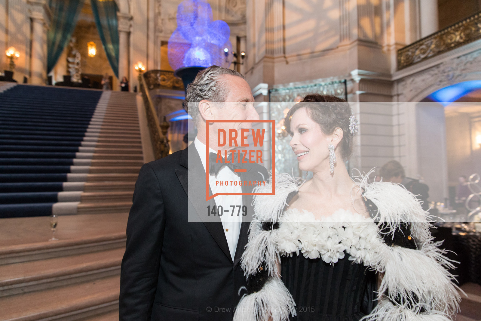 Jim Marver, Stephanie Marver, San Francisco Ballet 2015 Opening Night Gala, San Francisco City Hall. 1 Dr Carlton B Goodlett Pl, January 22nd, 2015,Drew Altizer, Drew Altizer Photography, full-service agency, private events, San Francisco photographer, photographer california