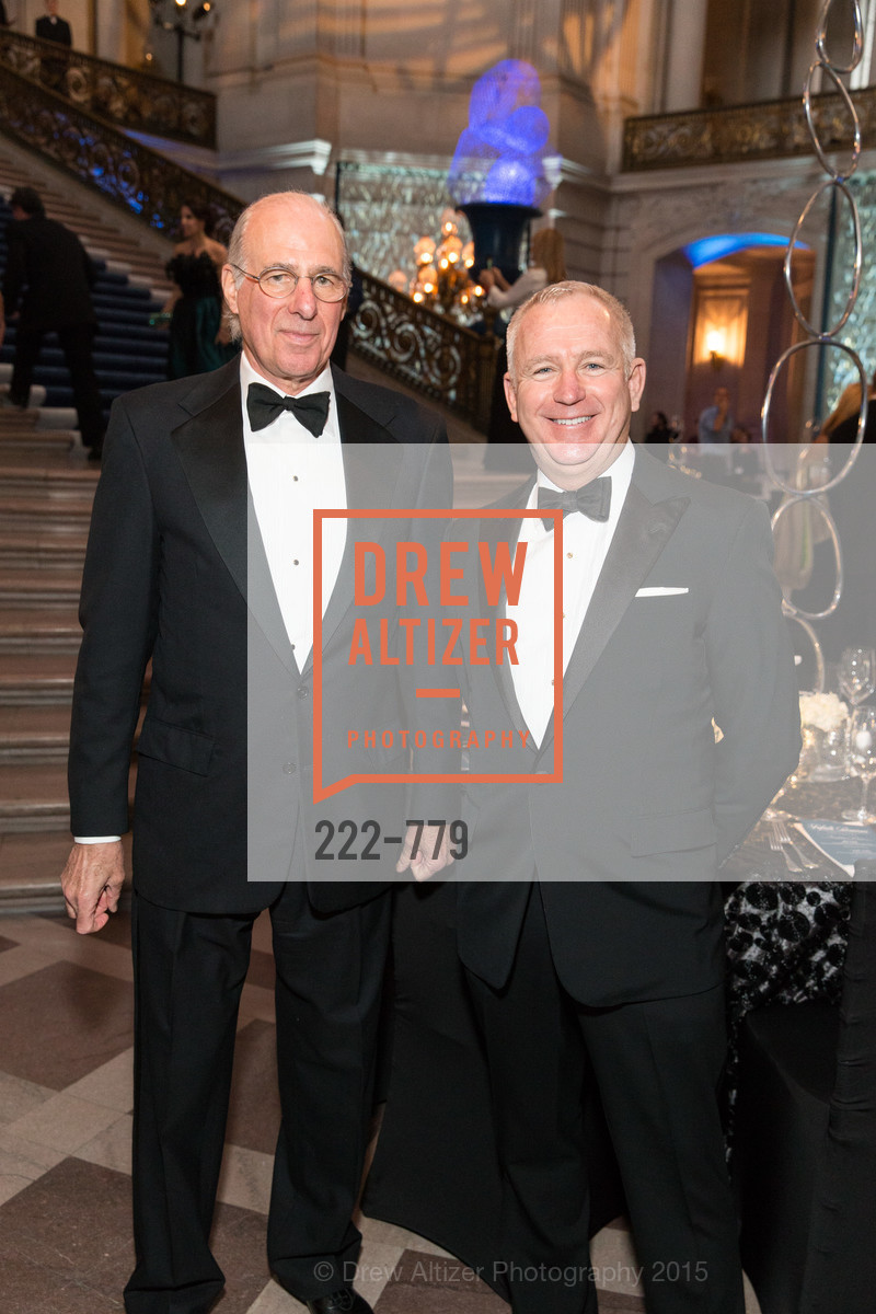 John Osterweis, Glenn McCoy, San Francisco Ballet 2015 Opening Night Gala, San Francisco City Hall. 1 Dr Carlton B Goodlett Pl, January 22nd, 2015,Drew Altizer, Drew Altizer Photography, full-service event agency, private events, San Francisco photographer, photographer California