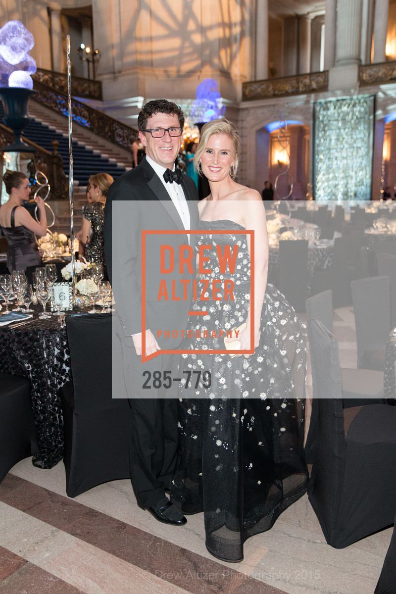 Michael Mauze, Alison Mauze, San Francisco Ballet 2015 Opening Night Gala, San Francisco City Hall. 1 Dr Carlton B Goodlett Pl, January 22nd, 2015,Drew Altizer, Drew Altizer Photography, full-service agency, private events, San Francisco photographer, photographer california