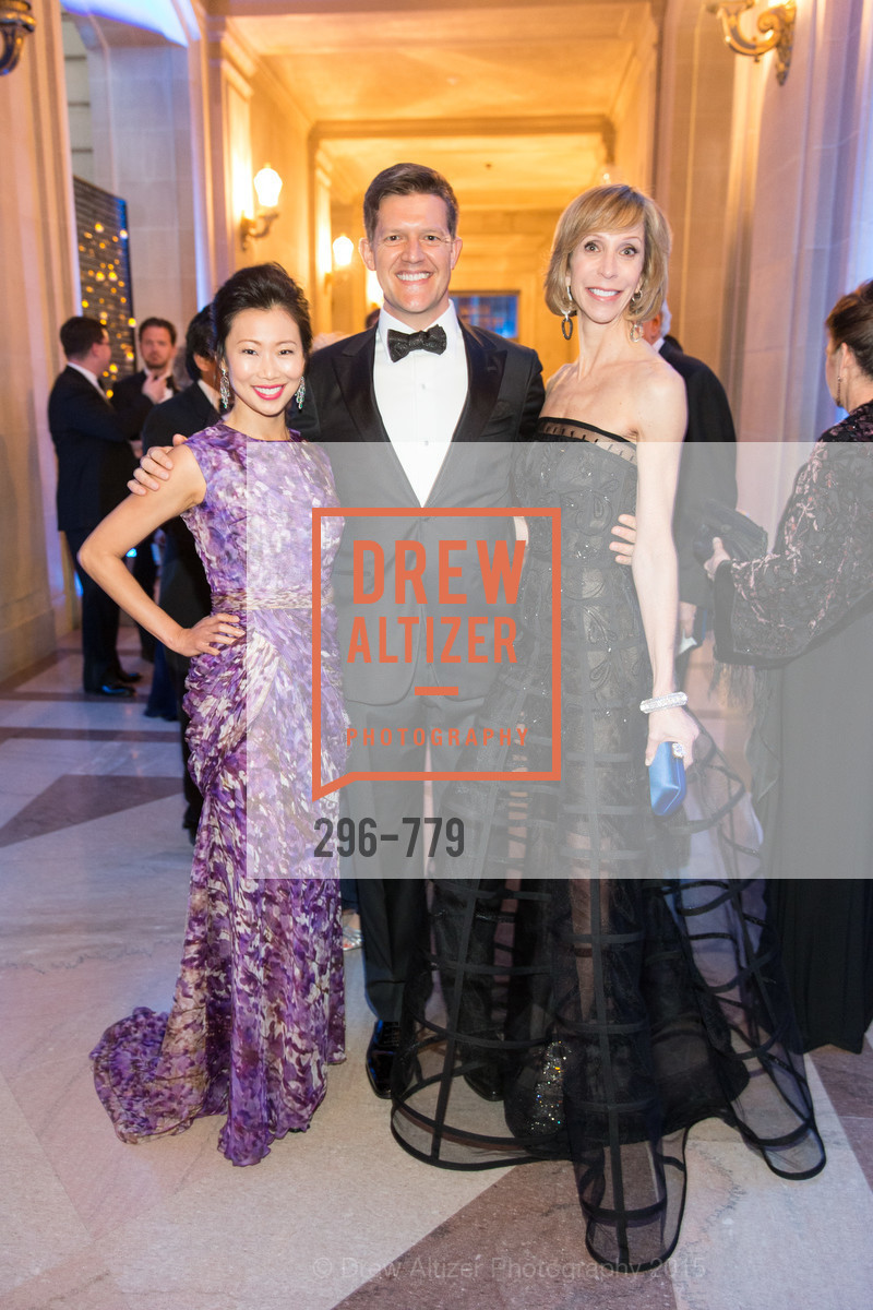 Huifen Chan, Roelof Botha, Nancy Kukacka, San Francisco Ballet 2015 Opening Night Gala, San Francisco City Hall. 1 Dr Carlton B Goodlett Pl, January 22nd, 2015,Drew Altizer, Drew Altizer Photography, full-service agency, private events, San Francisco photographer, photographer california