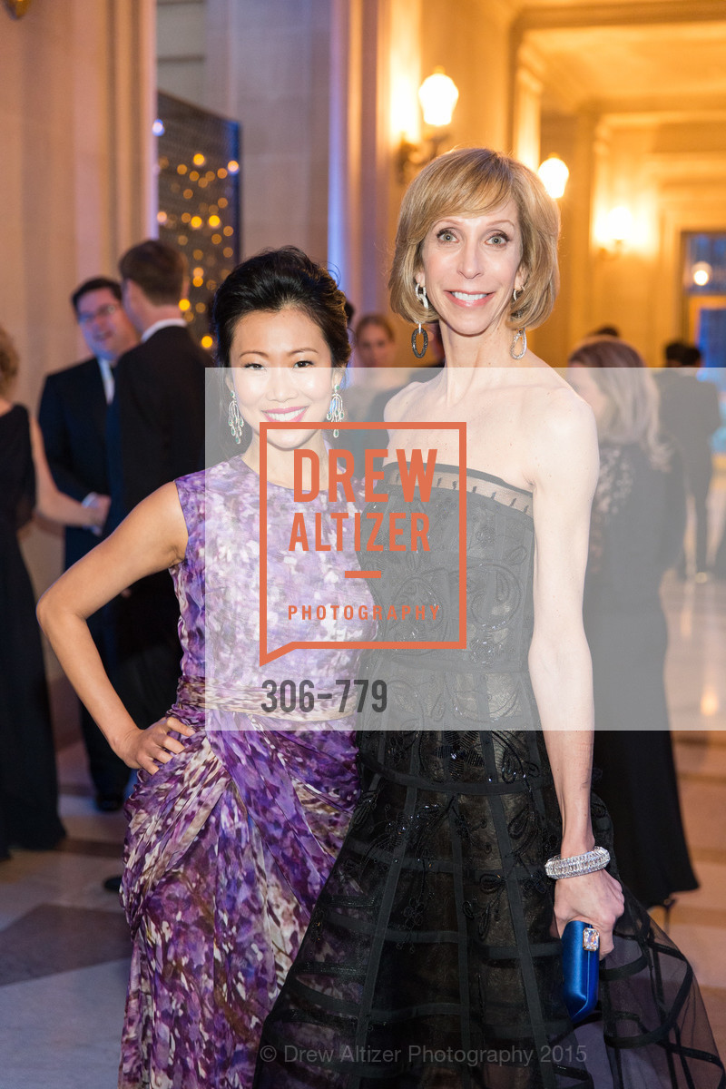 Huifen Chan, Nancy Kukacka, San Francisco Ballet 2015 Opening Night Gala, San Francisco City Hall. 1 Dr Carlton B Goodlett Pl, January 22nd, 2015,Drew Altizer, Drew Altizer Photography, full-service agency, private events, San Francisco photographer, photographer california