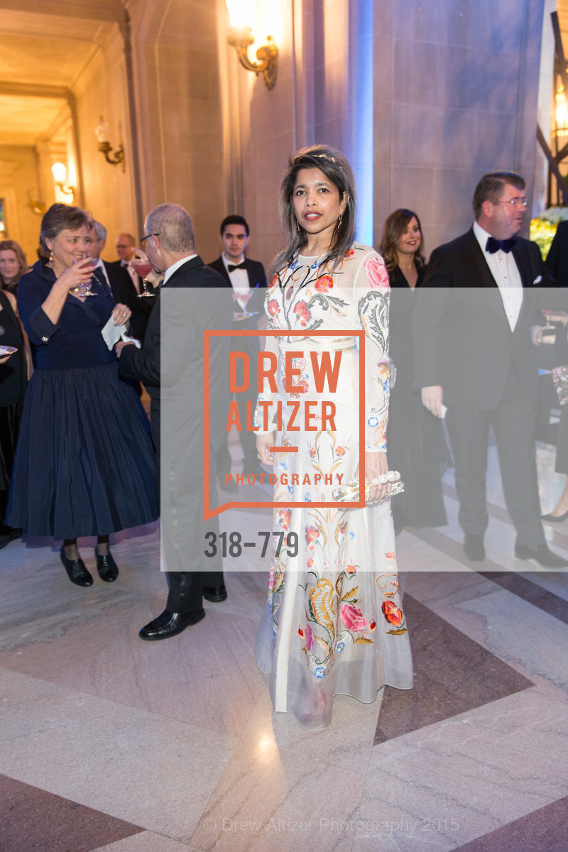 Deepa Pakianathan, San Francisco Ballet 2015 Opening Night Gala, San Francisco City Hall. 1 Dr Carlton B Goodlett Pl, January 22nd, 2015,Drew Altizer, Drew Altizer Photography, full-service agency, private events, San Francisco photographer, photographer california