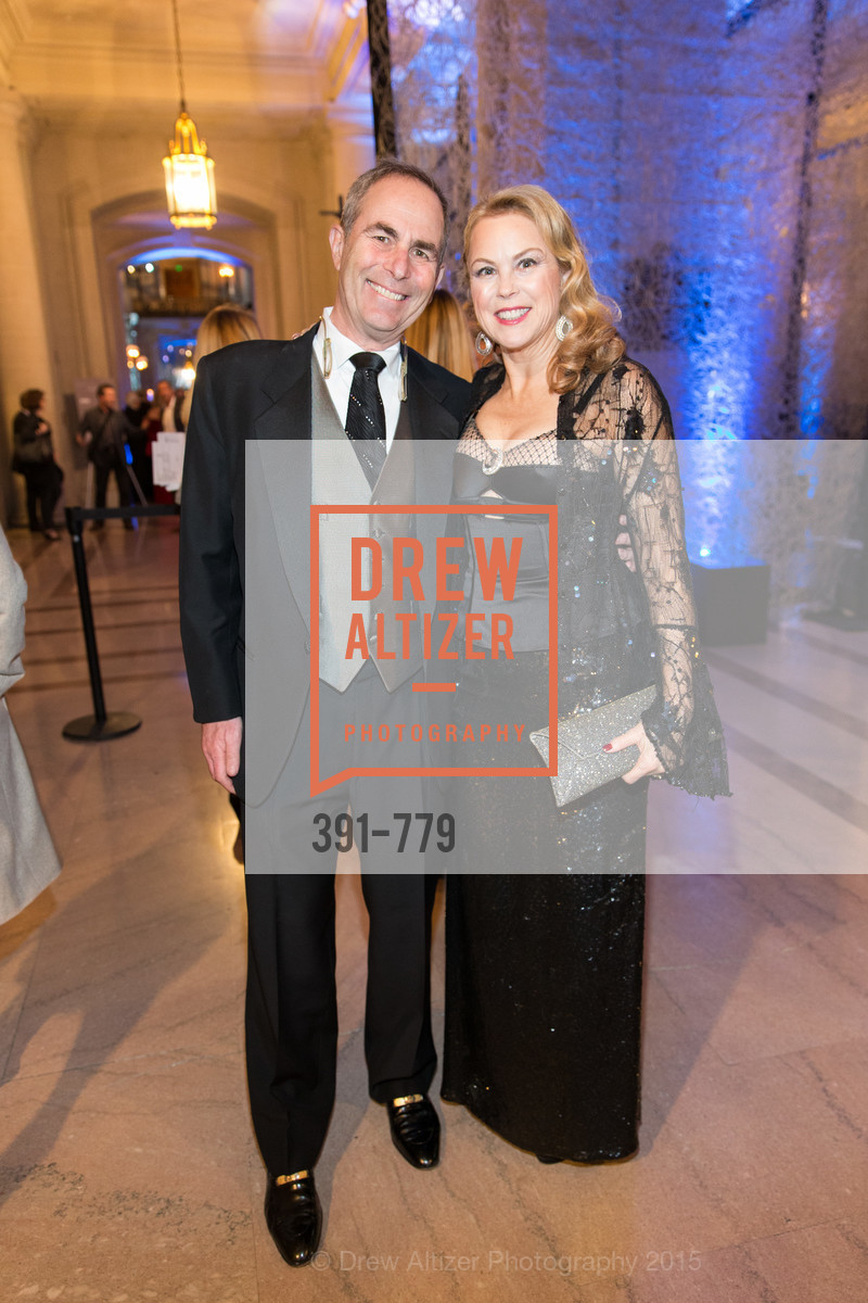 Tood Werby, Nonie Greene, San Francisco Ballet 2015 Opening Night Gala, San Francisco City Hall. 1 Dr Carlton B Goodlett Pl, January 22nd, 2015