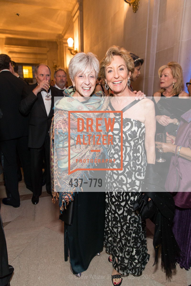 Nancy Livingston, Marcia Goldman, San Francisco Ballet 2015 Opening Night Gala, San Francisco City Hall. 1 Dr Carlton B Goodlett Pl, January 22nd, 2015,Drew Altizer, Drew Altizer Photography, full-service agency, private events, San Francisco photographer, photographer california