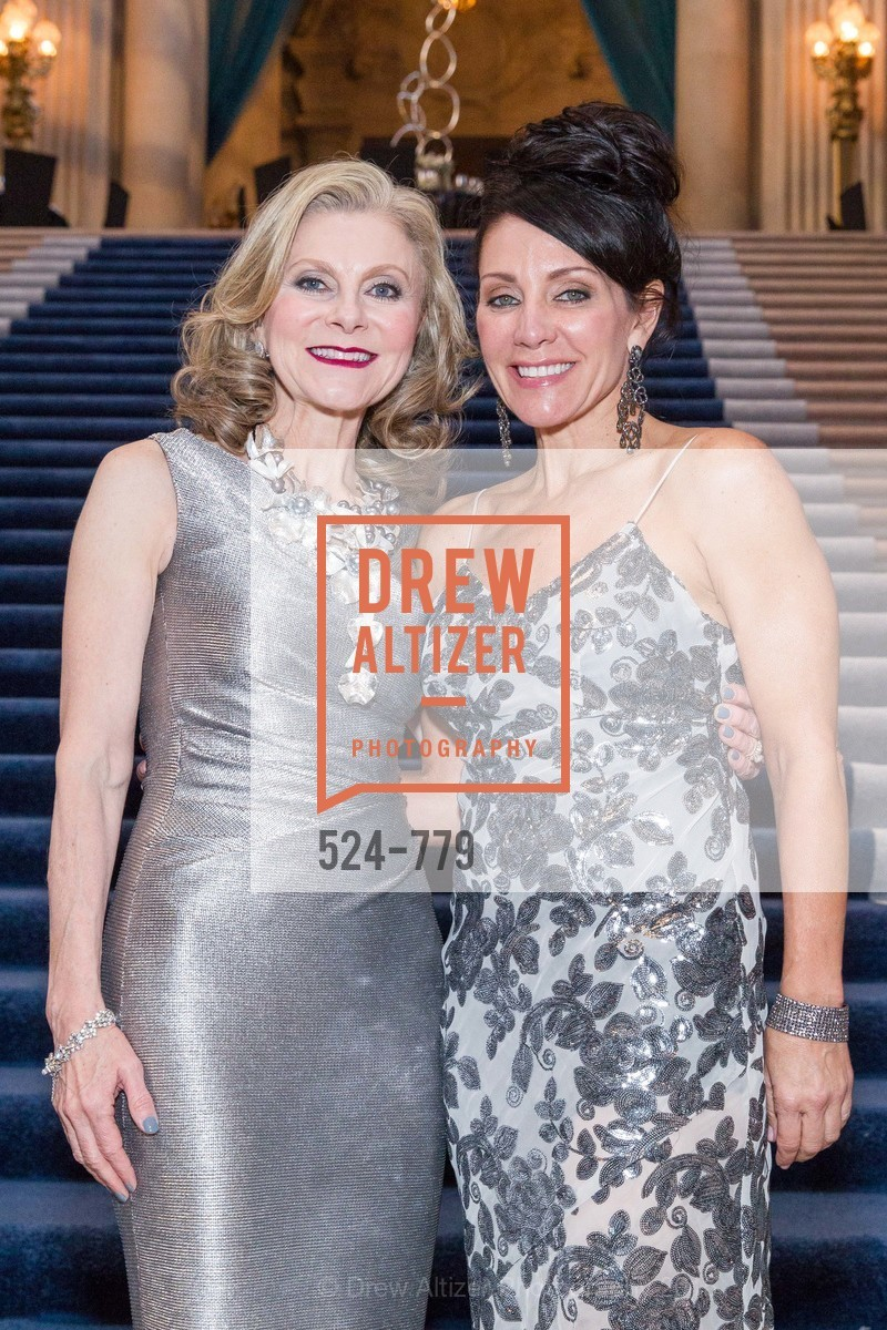 Patti Rock, Deborah Taylor, San Francisco Ballet 2015 Opening Night Gala, San Francisco City Hall. 1 Dr Carlton B Goodlett Pl, January 22nd, 2015,Drew Altizer, Drew Altizer Photography, full-service agency, private events, San Francisco photographer, photographer california
