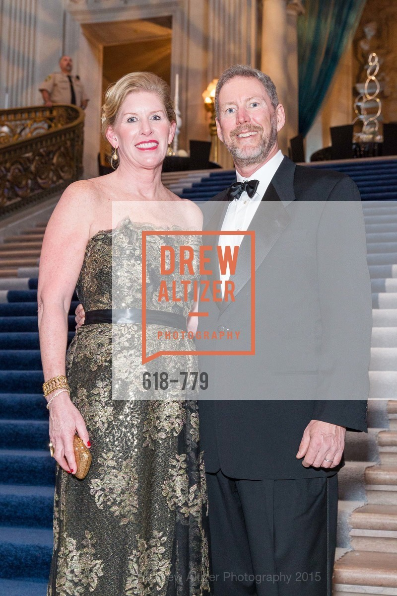 Jennifer Brandenburg, Bill Brandenburg, San Francisco Ballet 2015 Opening Night Gala, San Francisco City Hall. 1 Dr Carlton B Goodlett Pl, January 22nd, 2015,Drew Altizer, Drew Altizer Photography, full-service agency, private events, San Francisco photographer, photographer california
