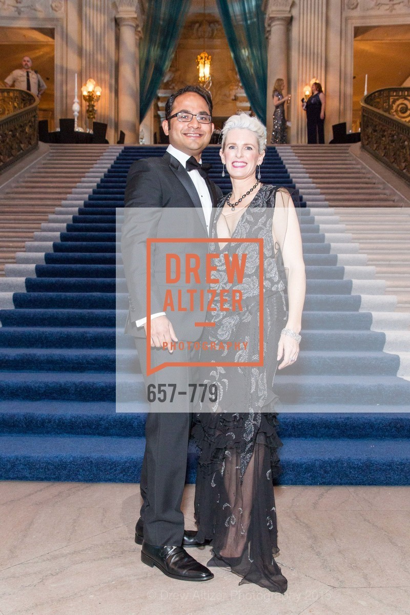 Mainul Mondal, Marie Hurabiell, San Francisco Ballet 2015 Opening Night Gala, San Francisco City Hall. 1 Dr Carlton B Goodlett Pl, January 22nd, 2015,Drew Altizer, Drew Altizer Photography, full-service agency, private events, San Francisco photographer, photographer california